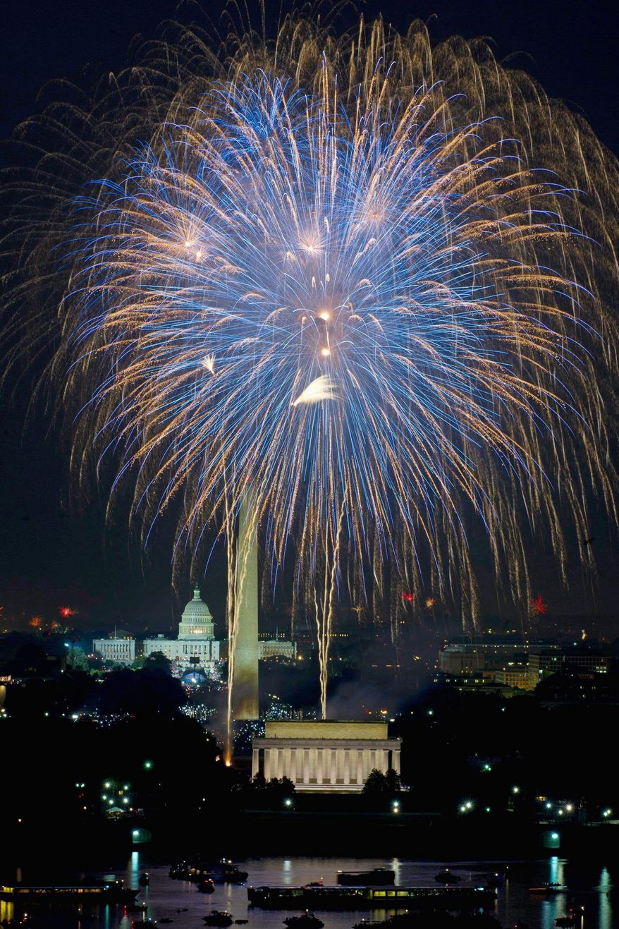 The July 4th fireworks are some of the best in the country, and about the only time when watching D.C. literally blow up tens of thousands of dollars of taxpayer money is even mildly enjoyable
