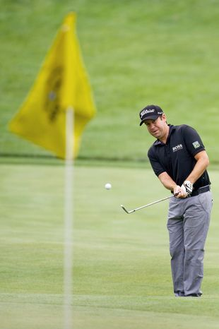Erik Compton, 32, made the cut at a PGA Tour event five months after his second heart transplant. His health issues began when he was a 9-year-old growing up in Miami. (Andrew Harnik/The Washington Times)