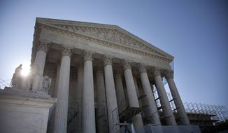 **FILE** The Supreme Court in Washington is seen June 27, 2012. (Associated Press)