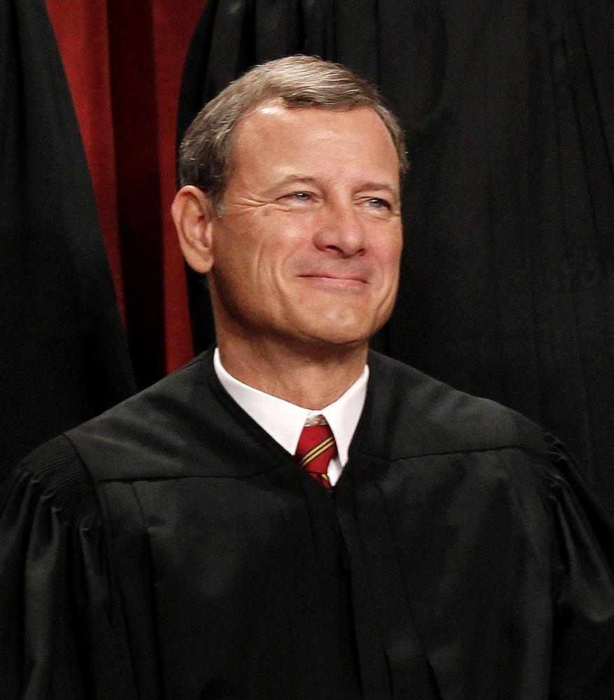 Chief Justice John G. Roberts Jr. (Associated Press)