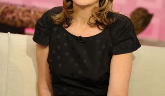 "**FILE** ""Today"" show co-host Savannah Guthrie appears Aug. 10, 2011, on the set during a broadcast in New York. (Associated Press/NBC)"