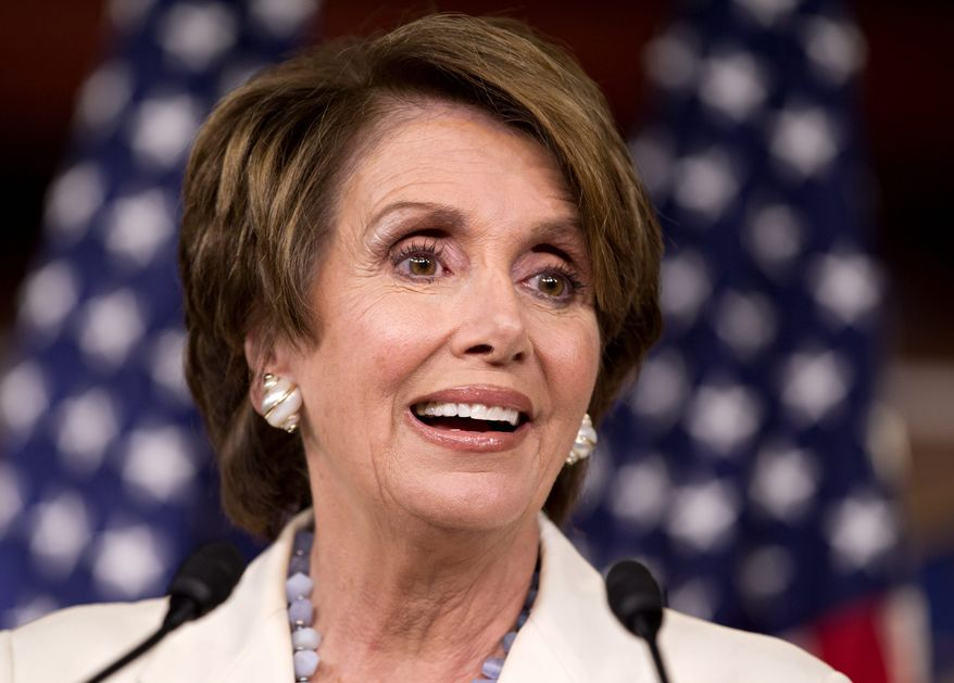 """No, it's a penalty. It's a penalty that comes under the tax code for the 1 percent perhaps of the population who may decide that they are going to be free-riders."" - House Minority Leader Nancy Pelosi, California Democrat (Associated Press)"