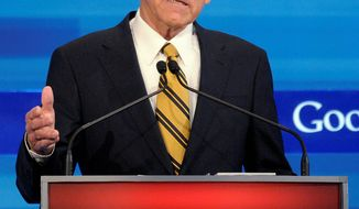 Rep. Ron Paul, Texas Republican, will host a rally for supporters at an arena in Tampa, Fla., the day before the GOP convention. (Associated Press)