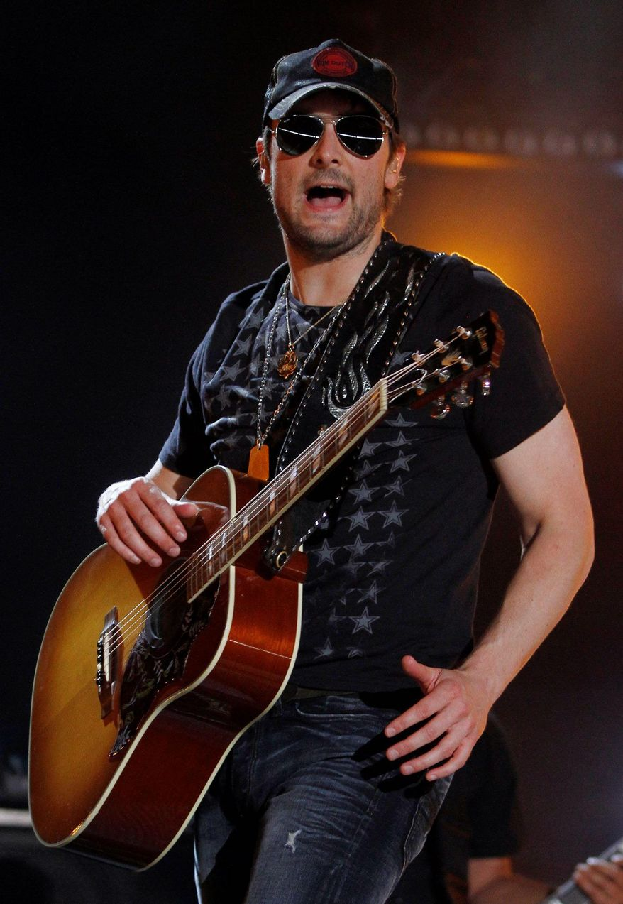 "Country star Eric Church will host an online contest in conjunction with the premiere of ""Mixtape"" on CMT. (Invision via Associated Press)"