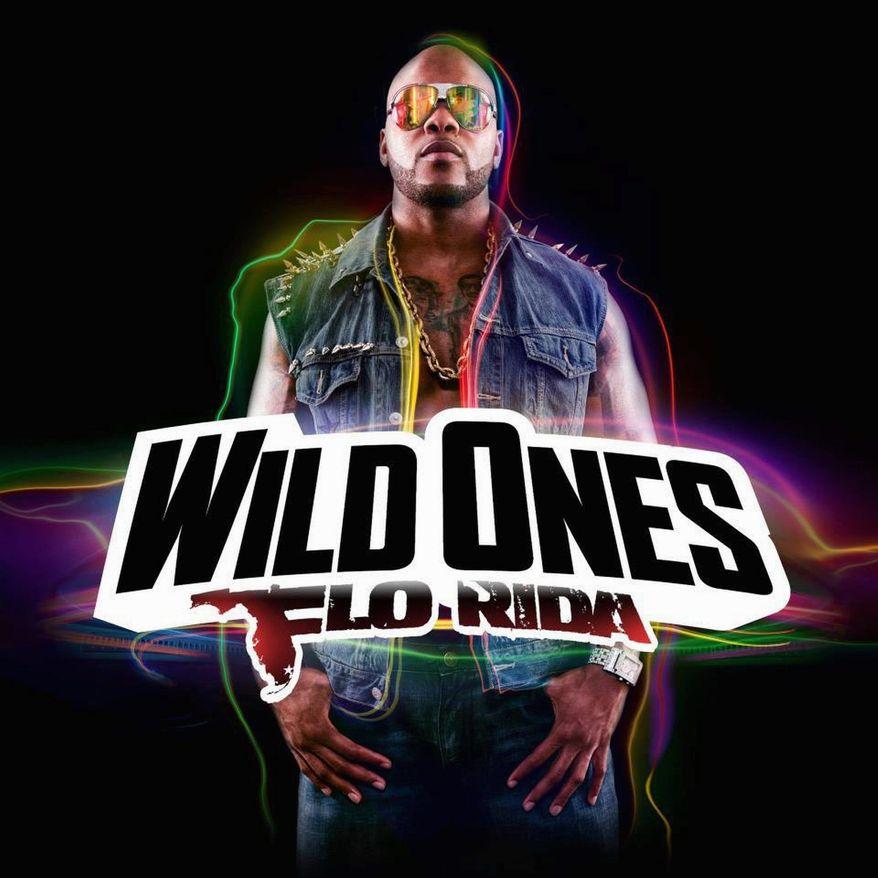 """Album cover for Flo Rida """"Wild Ones""""."""