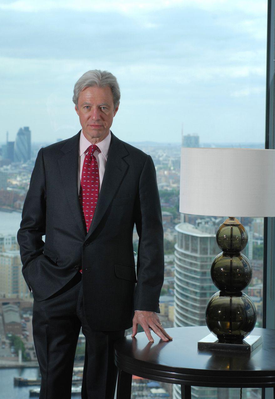 Marcus Agius resigned as chairman of the United Kingdom-based Barclays bank on Monday, July 2, 2012. (AP Photo/Barclays, VisualMedia)