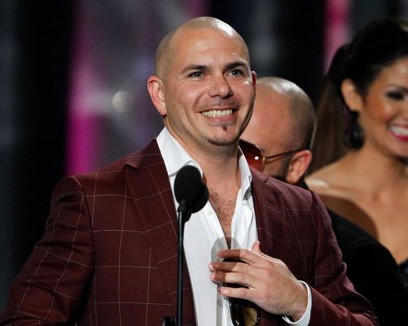 Pitbull might be on his way Kodiak, Alaska, if thousands of Wal-Mart voters get their way. (Associated Press)