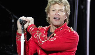 Jon Bon Jovi hopes that Unplugged, his new scents for men and women, smells like success. (Associated Press)
