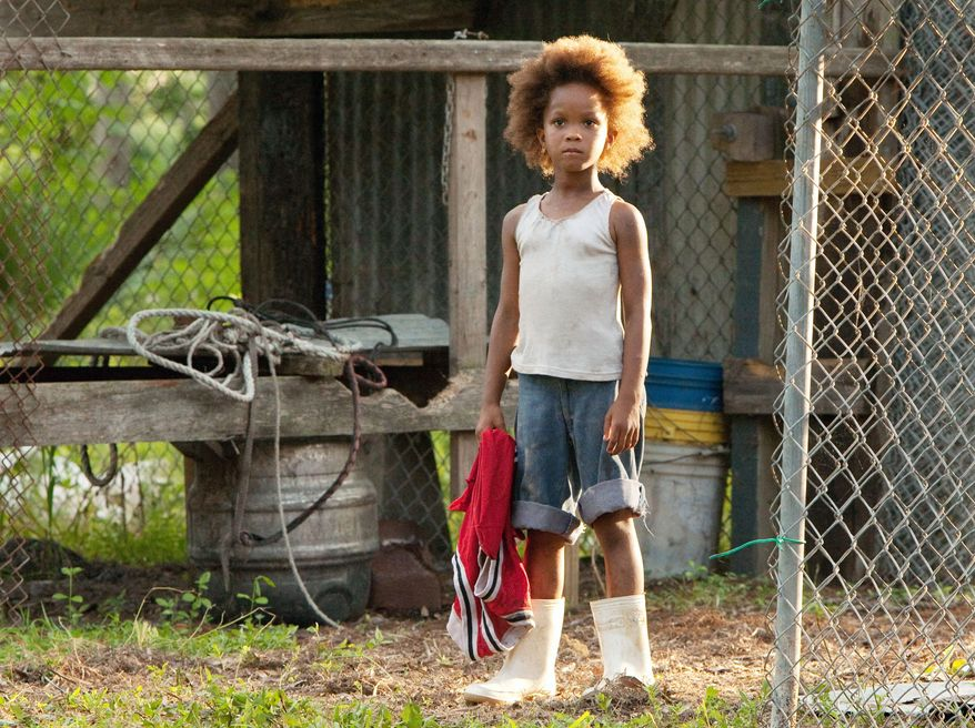 "Quvenzhane Wallis was chosen from auditions of about 4,000 young girls in southern Louisiana schools and churches to play the lead role in ""Beasts of the Southern Wild."" (Associated Press)"