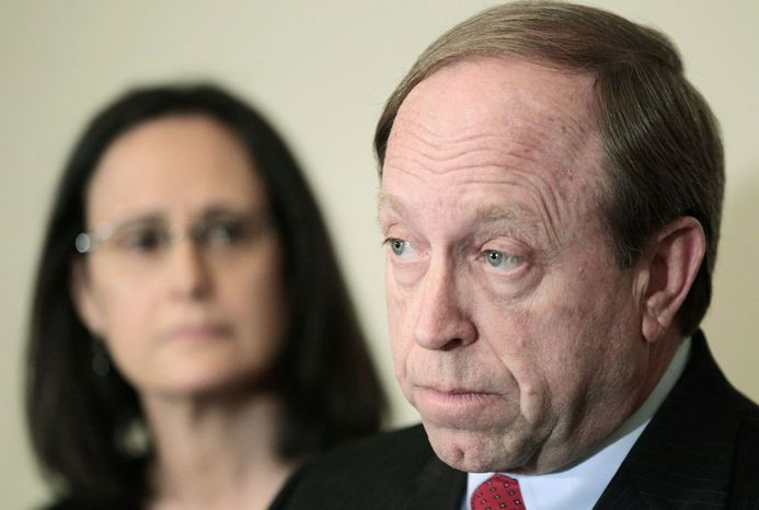 Colorado Attorney General John W. Suthers is appealing a state appeals court ruling that the day-of-prayer proclamation is unconstitutional. (Associated Press)