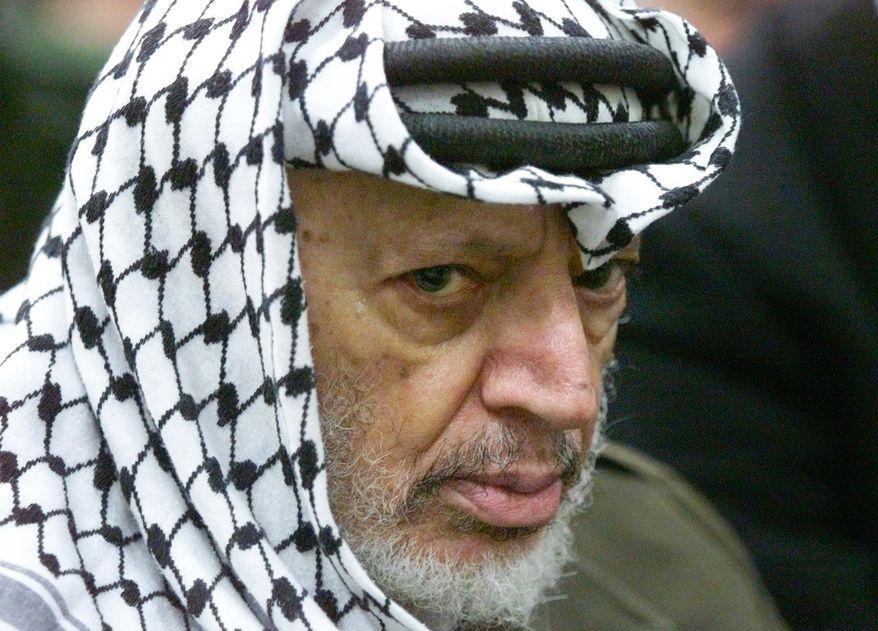 **FILE** Yasser Arafat (Associated Press)