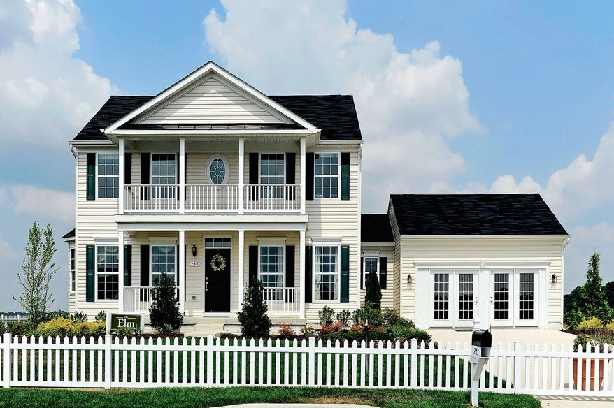 Timberlake Homes is building single-family homes at the Meadows at Chestnut Ridge in Magnolia, Del. The Elm model features four bedrooms, three full baths and a powder room. It is priced from $249,000.