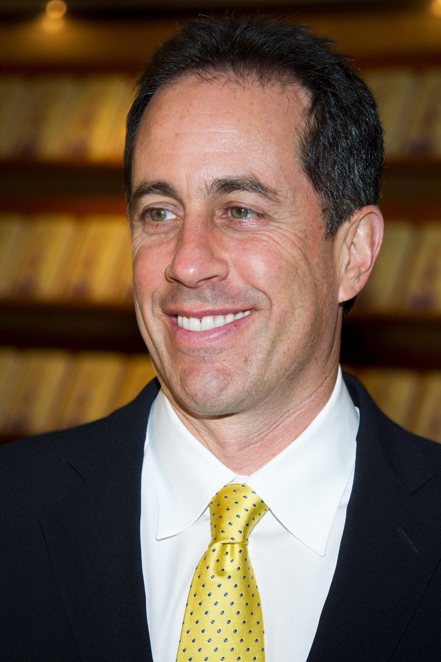 """Jerry Seinfeld announced that he'll debut the Web series """"Comedians in Cars Getting Coffee"""" on July 19. (Associated Press)"""