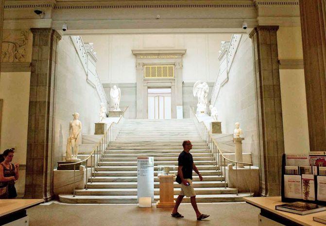 Interior image of the Corcoran Gallery of Art  on Thursday, July 5, 2012, in Washington D.C. (Raymond Thompson/The Washington Times)