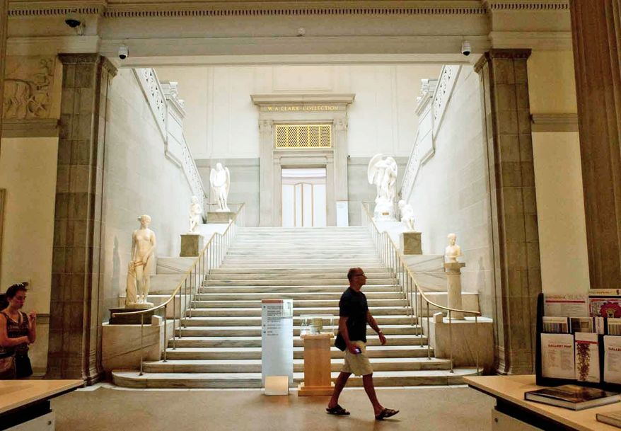 Interior image of the Corcoran Gallery of Art  on Thursday, July 5, 2012, in Washington D.C. (Raymond Thompson/The Washington Times)