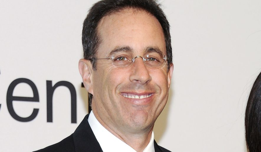 Jerry Seinfeld (AP Photo/Evan Agostini) ** FILE **