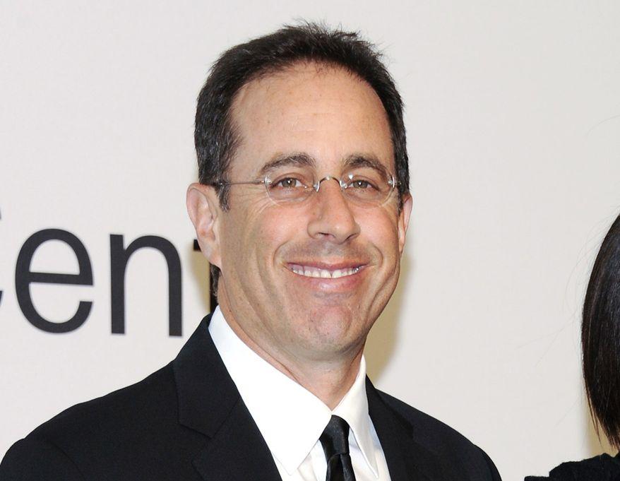 Jerry Seinfeld (AP Photo/Evan Agostini) ** FILE **