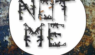 Illustration Guns by Greg Groesch for The Washington Times