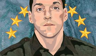 Illustration Brian Terry by Greg Groesch for The Washington Times