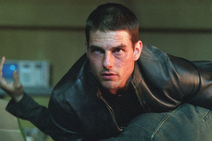 "Tom Cruise stars in ""Minority Report"" (Courtesy Twentieth Century Fox Home Entertainment)"
