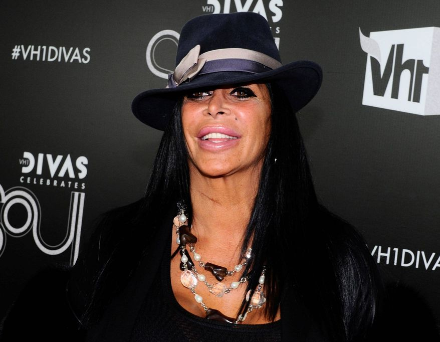 "Angela Raiola, better known as Big Ang, stars in ""Mob Wives"" and will also star in ""Big Ang."" (Associated Press)"