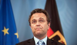 German Interior Minister Hans-Peter Friedrich (AP Photo/dapd, Timur Emek)