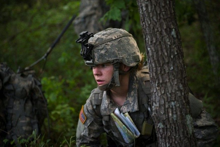 """""""I'm used to having to prove myself and I'm completely fine with that. I think it's always better when you get respect you deserve. They just saw me as a female, possibly a weak link, and when I proved that I wasn't, it made our bond even stronger as a team,"""" U.S. Army Capt. Aston Armstrong said."""
