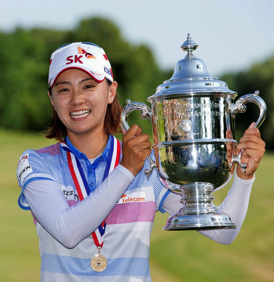 South Korea's Na Yeon Choi shot a 1-over 73 on Sunday, but her 65 on Saturday gave her enough of a final-round cushion to claim the championship trophy. (Associated Press)