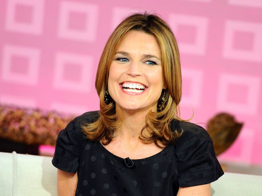 "Savannah Guthrie paid tribute to  her predecessors on the ""Today""  show as she made her official debut  as co-host Monday. (NBC via Associated Press)"