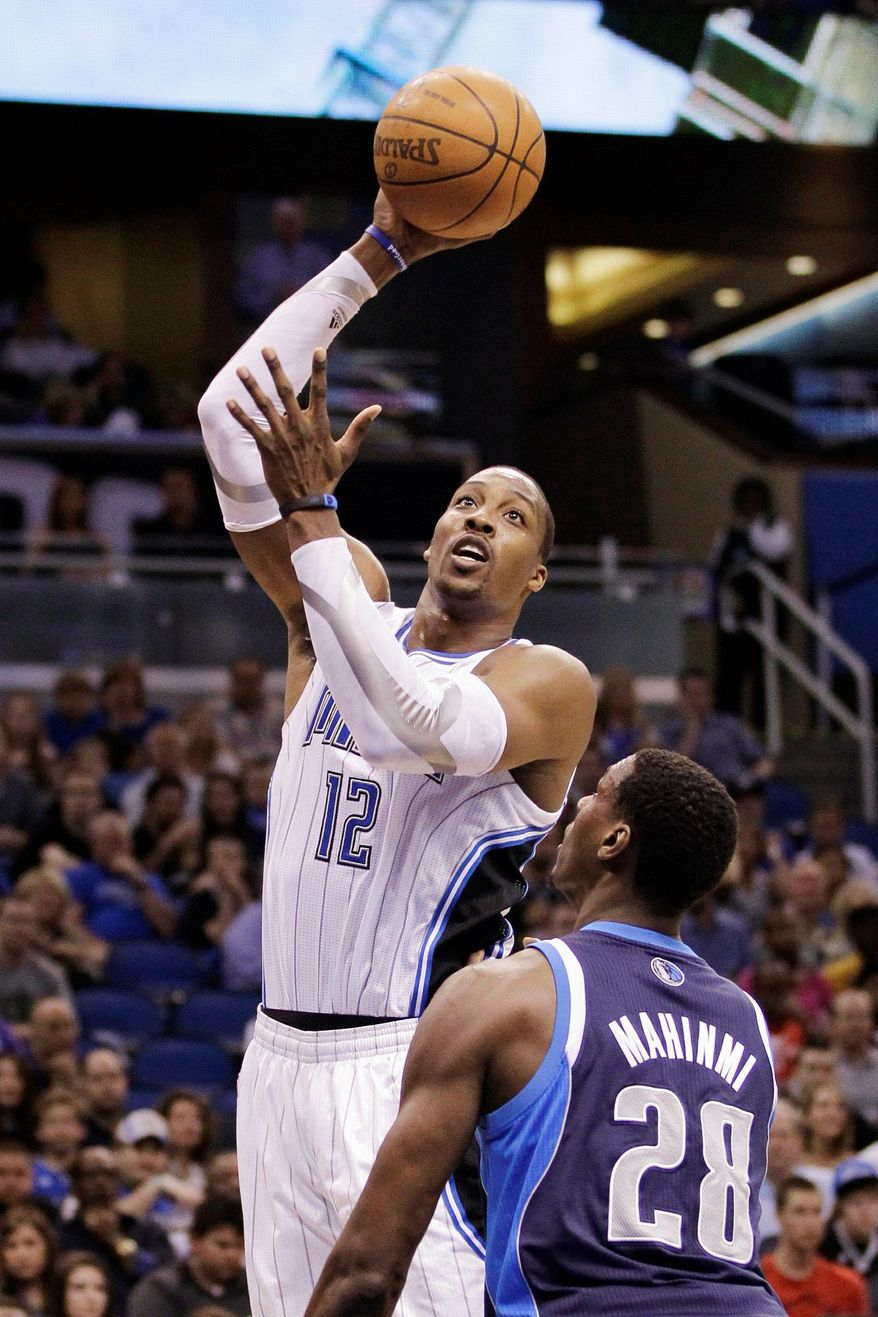 Should Brooklyn pry Dwight Howard from Orlando, it would give the Nets a power base matched only by the Miami Heat. (Associated Press)