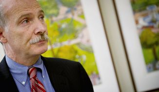 """D.C. Council Chairman Phil Mendelson, a Democrat, says the city has gone through a detailed, science-based review  of its breath-testing program since it """"fell apart"""" two years ago. On Tuesday, the council will vote on reviving the program as part  of """"a fairly busy"""" agenda before the summer recess. (Rod Lamkey Jr./The Washington Times)"""