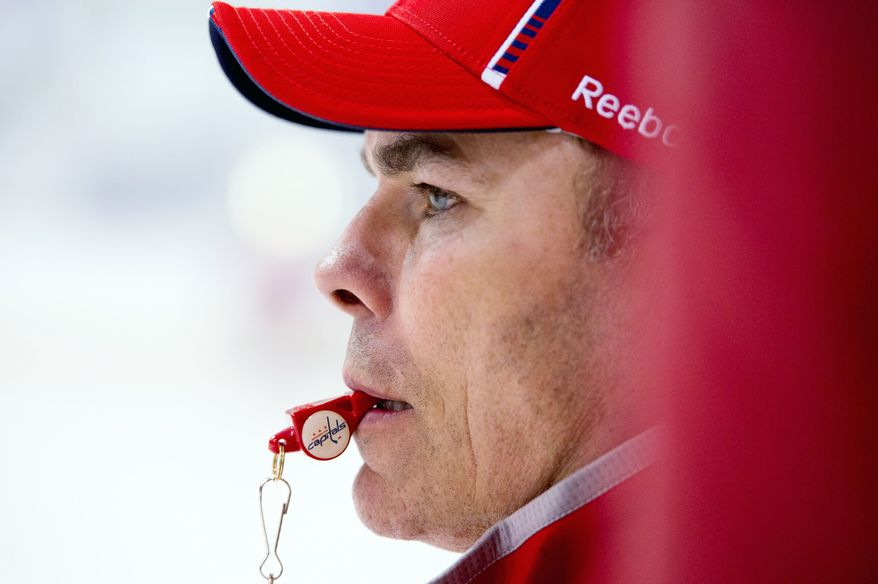 Adam Oates played 19 seasons in the NHL, scoring 341 goals and amassing 1,079 assists. He was chosen for the Hockey Hall of Fame on the same day he was named the Capitals' coach. (Andrew Harnik/The Washington Times)