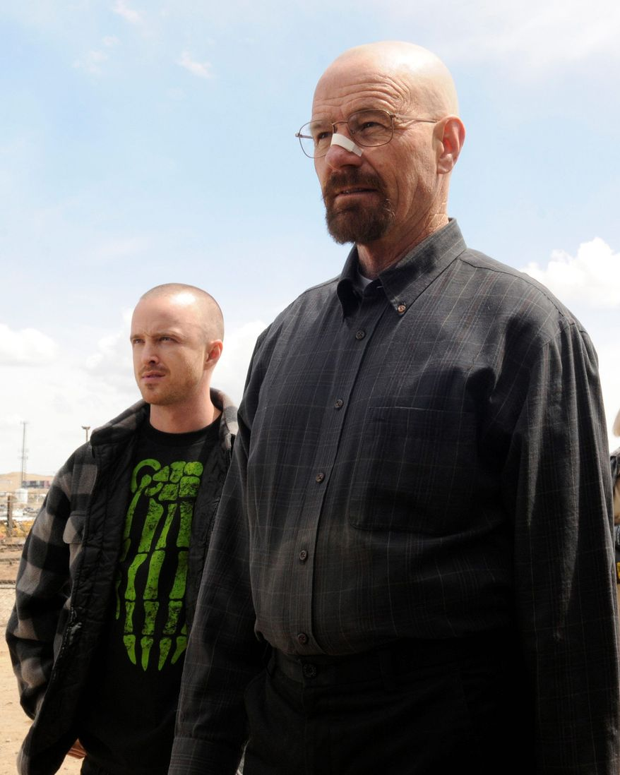 "Bryan Cranston, who stars in ""Breaking Bad"" as a terminally ill teacher who also cooks meth, will direct episodes of the fifth, final season, which begins Sunday. (Associatd Press)"