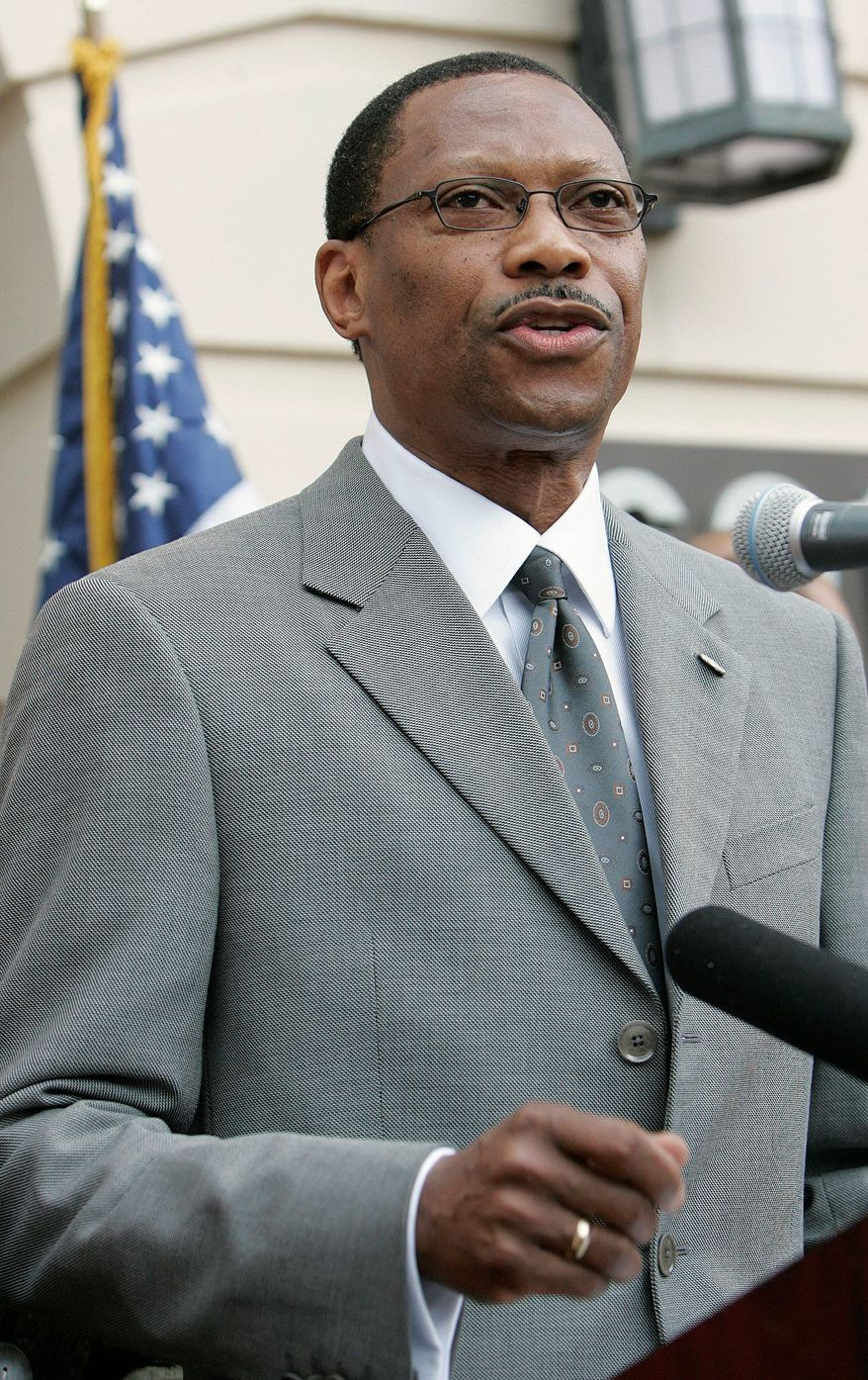 James Ammons, the president of Florida A&M University, will step down from his position at the school. His resignation takes effect on Oct. 11. (Associated Press)