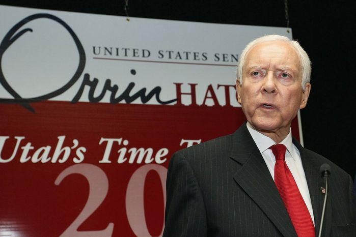 Sen. Orrin G. Hatch, Utah Republican, says GAO's letter proves the Obama administration is trying an illegal workaround. (Associated Press)