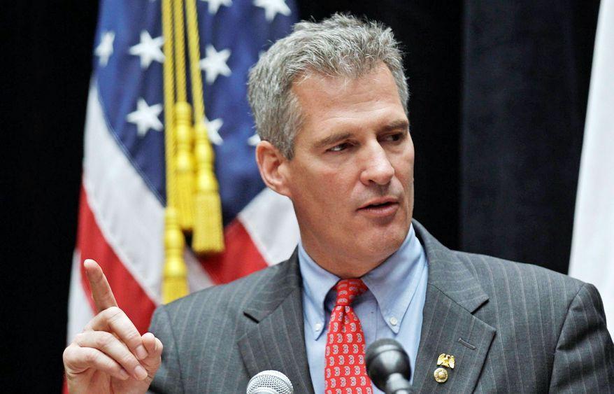 Sen. Scott P. Brown, Massachusetts Republican (Associated Press)