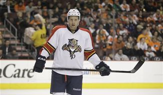 New Capitals forward Wojtek Wolski had four goals and eight assists last season with the Rangers and Panthers. (Associated Press)