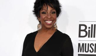 **FILE** Singer Gladys Knight arrives May 20, 2012, at the 2012 Billboard Awards at the MGM Grand in Las Vegas. (John Shearer/Invision/Associated Press)