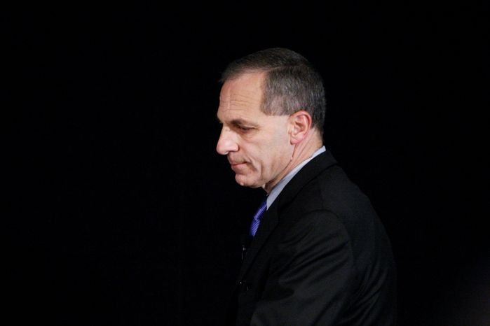 Louis J. Freeh says coach Joe Paterno and Penn State officials did not pursue allegations again Jerry Sandusky for fear of bad publicity. (Associated Press)