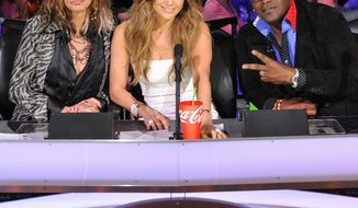 """Randy Jackson (right) faces the upcoming season of """"American Idol"""" without fellow judges Steven Tyler and Jennifer Lopez. who are leaving the Fox talent competition. Mr. Jackson's role may change. (Associated Press)"""