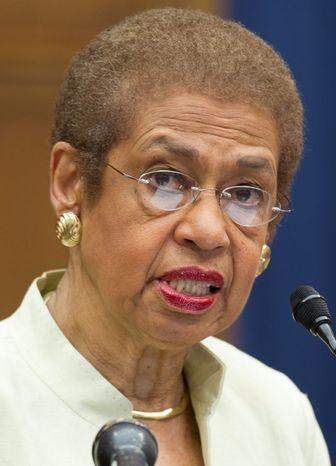 D.C. Congresswoman Eleanor Holmes Norton