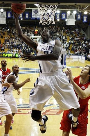 Villanova transfer Isaiah Armwood is anxious to contribute to a George Washington squad that finished 10-21 last season. (Associated Press)