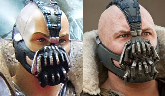 Bane Without Mask In Movie