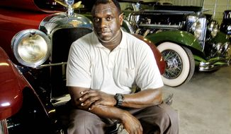 **FILE** Former Washington Redskins defensive lineman Dexter Manley (Brett Coomer/Special to the Washington Times)
