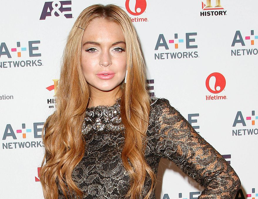 **FILE** Lindsay Lohan (Associated Press)