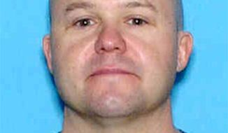 This undated image provided by the Colorado Springs Police Department on Tuesday, July 17, 2012 shows Brian Joseph Hedglin. The SkyWest Airlines employee wanted in a Colorado murder attempted to steal a passenger plane from a small southern Utah airport then shot himself in the head after crashing the aircraft in a nearby parking lot, officials said Tuesday. Hedglin was wanted in connection with the death of Christina Cornejo, 39, in Colorado Springs. Her body was found Friday by police doing a welfare check at the request of her family. Her death has been ruled a homicide. (AP Photo/Colorado Springs Police Department)