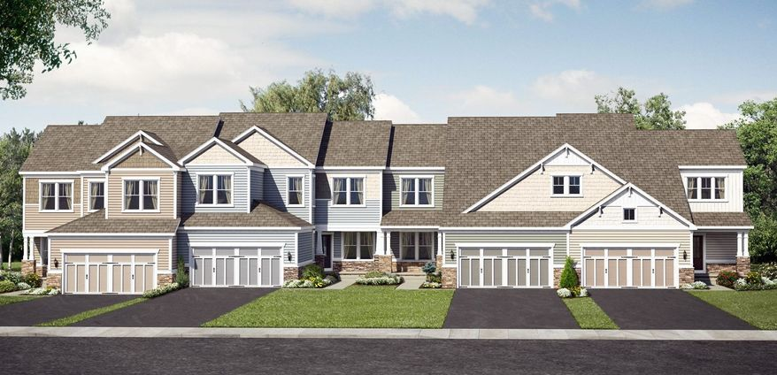 Pulte Homes is building 150 Grand Villa town homes on 6,500-square-foot sites at Trent Grove at Brambleton in Ashburn. The homes have approximately 3,161 to 3,660 finished square feet, with base prices from $434,990 to $469,990.