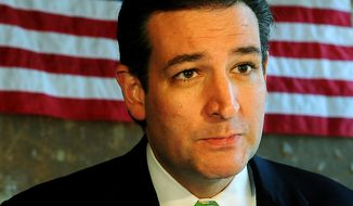**FILE** Sen. Ted Cruz, Texas Republican (Associated Press/The Amarillo Globe News)