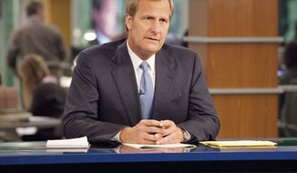 """Jeff Daniels plays anchor Will McAvoy on the HBO series """"The Newsroom,"""" which will be getting several new writers for the show's second season. (HBO via Associated Press)"""