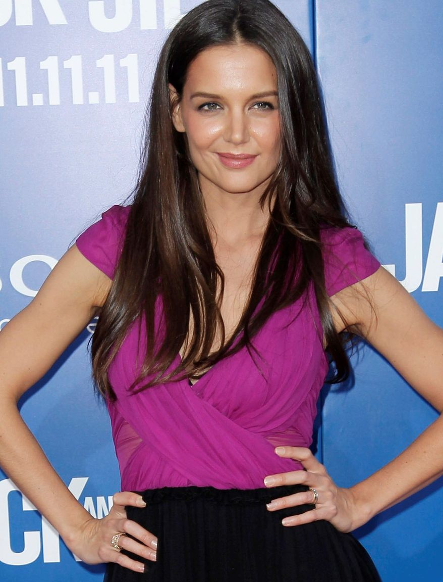 **FILE** Katie Holmes (Associated Press)